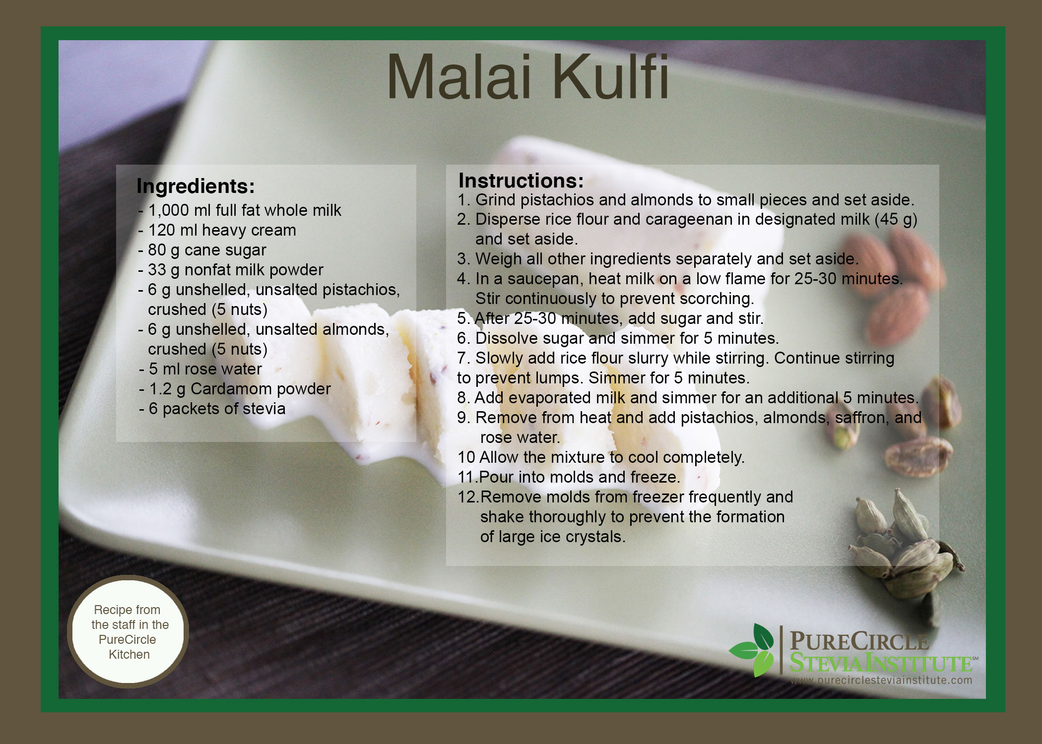 how to make indian kulfi